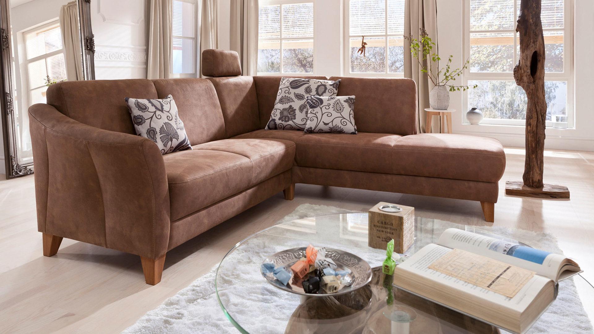 Möbel Busch | Räume | Wohnzimmer | Sofas + Couches | WOODS & TRENDS ...