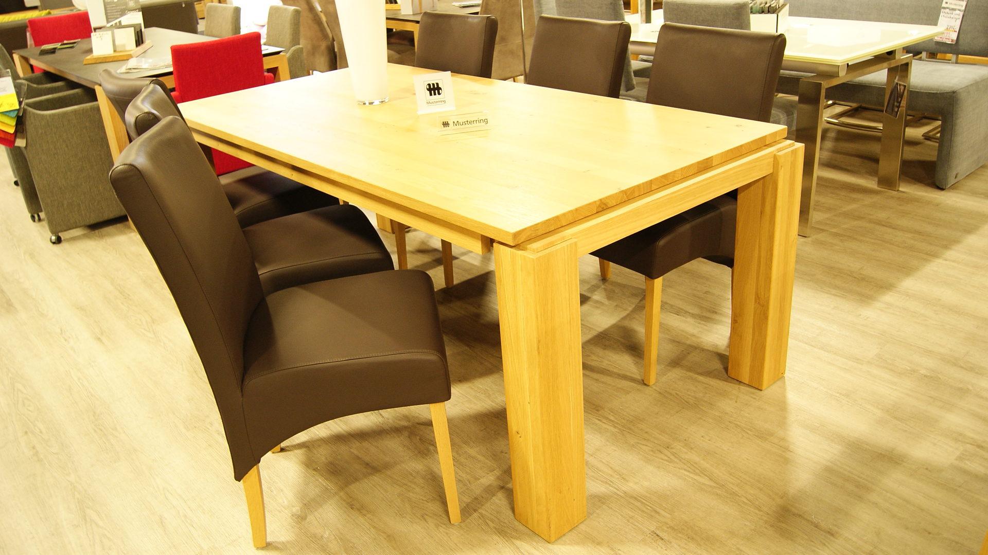 Möbel Busch Räume Möbel Busch Musterring Tisch Wildeiche Massiv