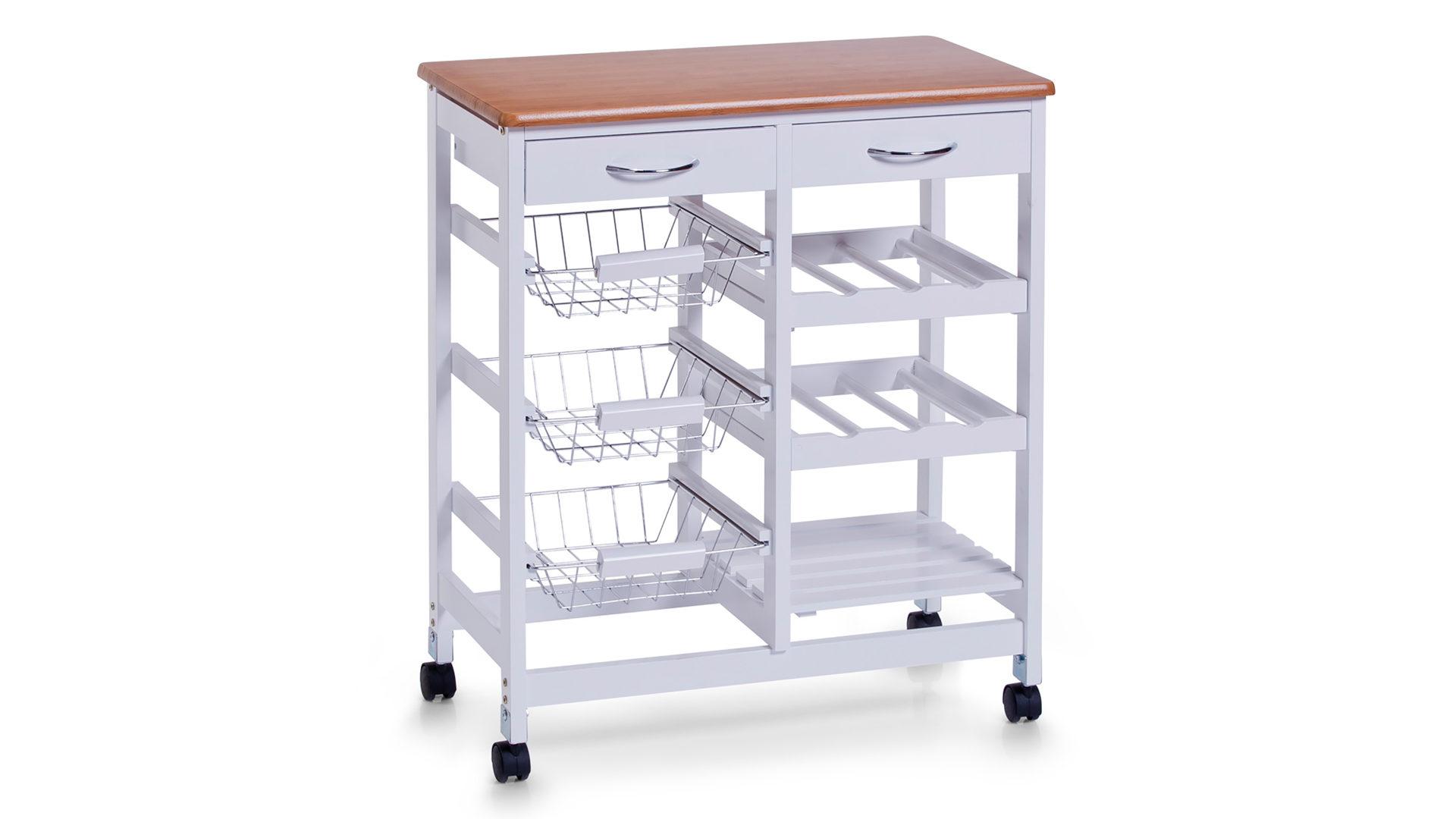 Möbel Busch | Möbel A-Z | Küchen | Küchenrollwagen | weiße ...