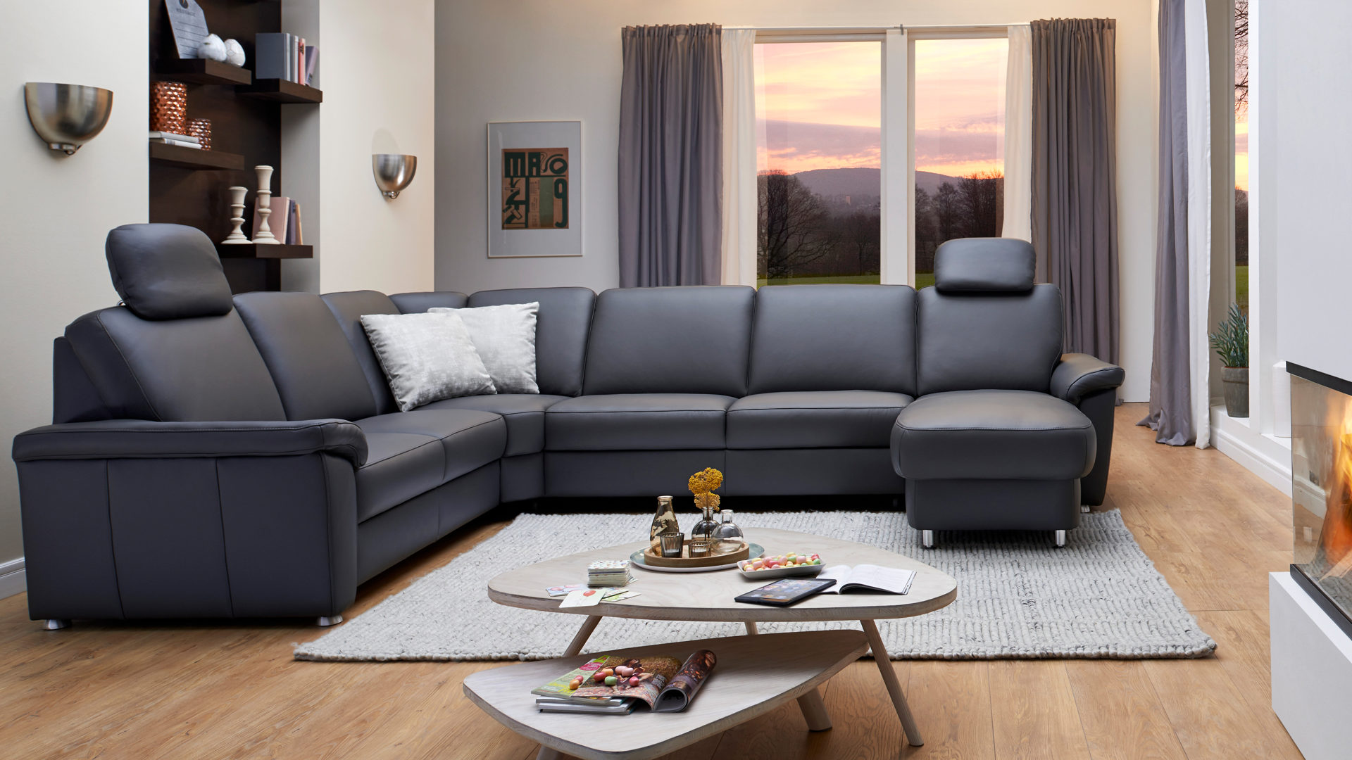 Fabulous Modulmaster Toto L Mit With Anthrazit Couch Wohnzimmer Farbe