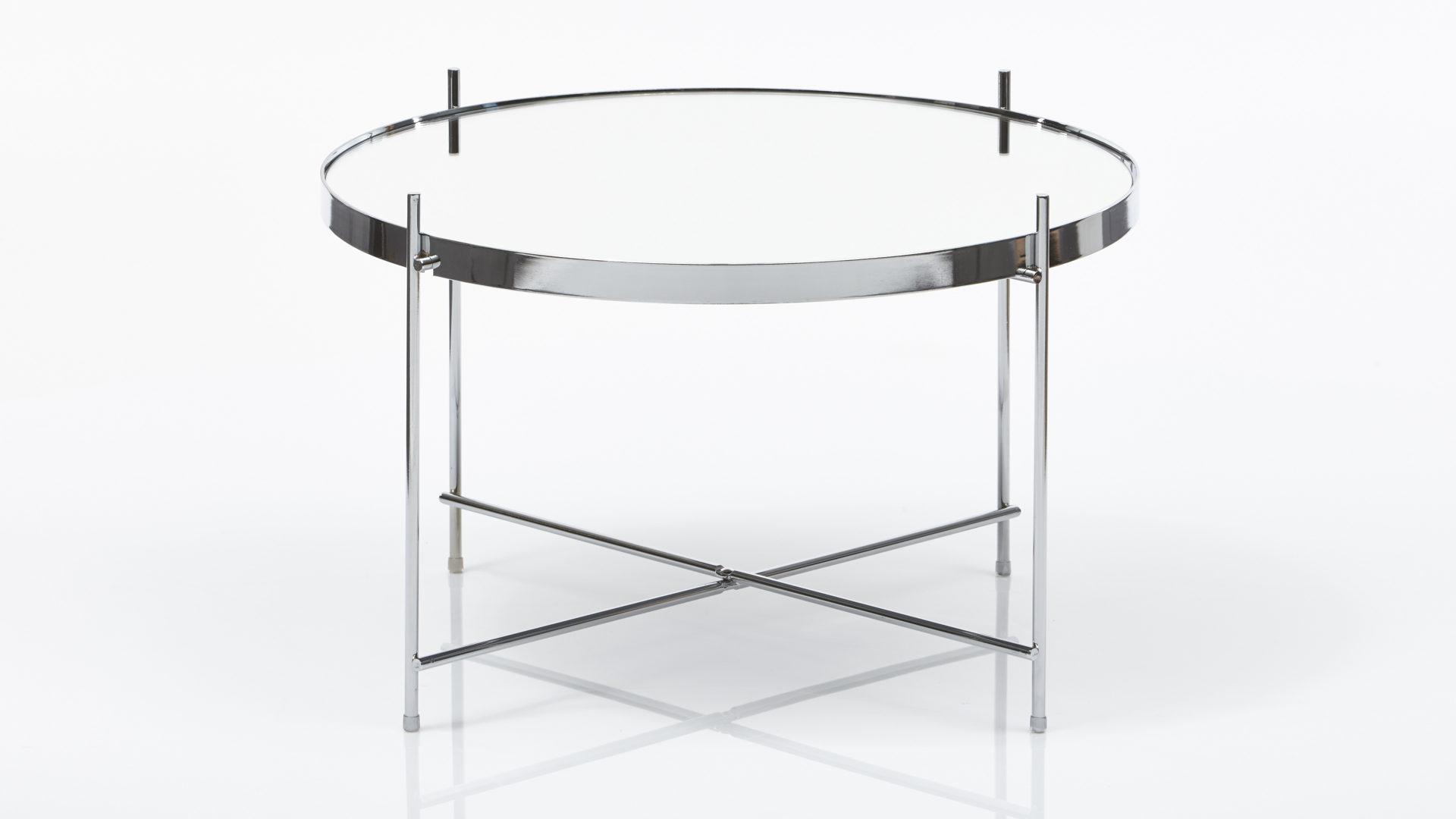 Beistelltisch glas chrom  Möbel Busch | Räume | Wohnzimmer | Couchtische + Beistelltische ...